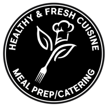 Healthy And Fresh Meal Prep Logo