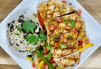 CILANTRO-LIME CHICKEN FAJITAS | FIT