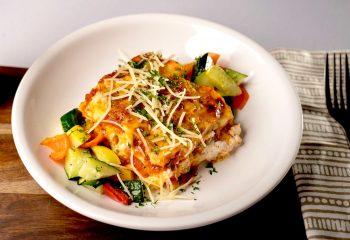 LEAN TURKEY LASAGNA | Gluten Free