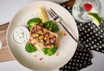 GREEK STYLE SALMON | Gluten Free