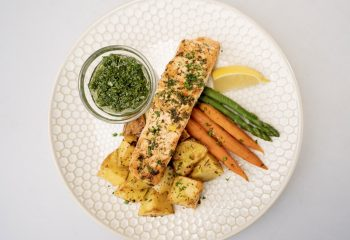 PAN SEARED SALMON CHIMICHURRI