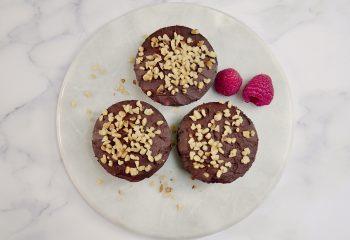 Keto Fudge Brownie Cupcakes