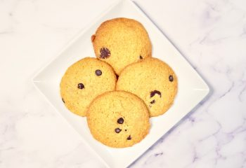 Protein Chocolate Chips Cookies